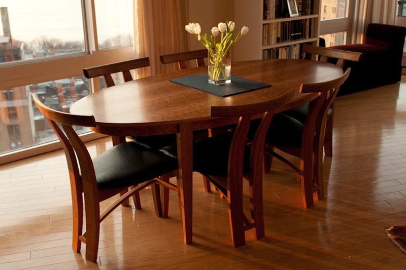 bàn ghế ăn gỗ lát