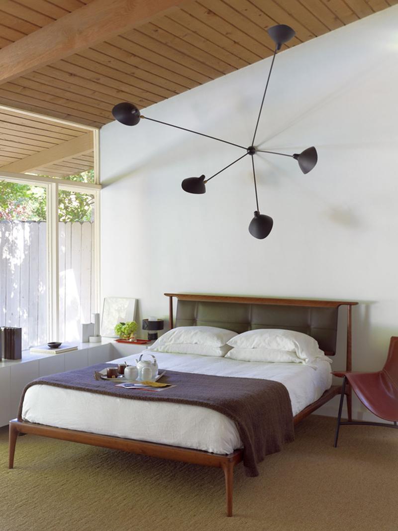 giường gỗ lát chun