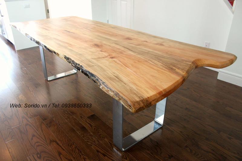 bàn gỗ lát chun