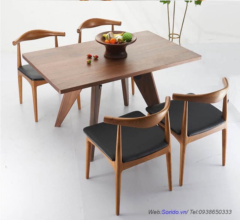 bàn ăn gỗ lát